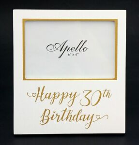 Image Is Loading 30th Birthday Photo Frame Female Male Gift