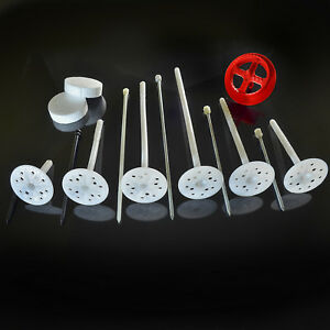 200 Dämmstoffhalter 10 x 90mm WDVS VWS EPS Dämmstoffdübel Dübel Tellerdübel