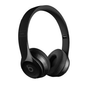 Beats by Dr. Dre Solo3 Wireless Gloss Black On Ear Headphones MNEN2LL/A