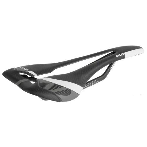 Velo Senso Miles Ultra Lightweight Carbon Saddle Black 96g 274 x 126 mm