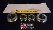 CBR600RR  2007- 2016 Captive wheel Spacers. Silver or Black available