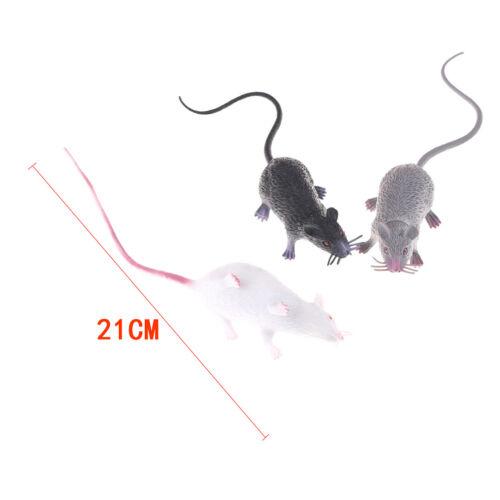 Simulate Mice Tricky Joke Fake Lifelike Mouse Model Prop Toy Party Decor JD