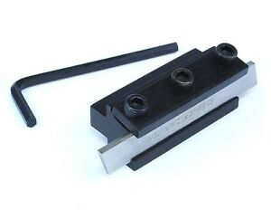 HSS-M-2-Parting-Tool-amp-Holder-3-32-x-1-2-x-3-034-Myford-Emco-Metalworking-M0137