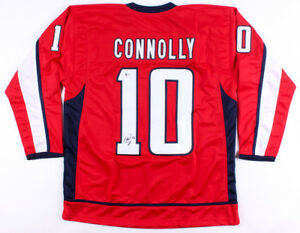 official photos 3aa8b 73010 Details about Brett Connolly Signed Capitals Jersey (Beckett COA) 2018  Stanley Cup Champion