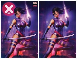 X-MEN-3-SHANNON-MAER-VIRGIN-amp-TRADE-VARIANT-SET-PSYLOCKE-2019-NM-OR-BETTER