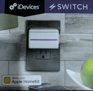 iDevices Switch IDEV0001P5 WiFi Smart Plug w/ Energy Monitoring, No Hub Require