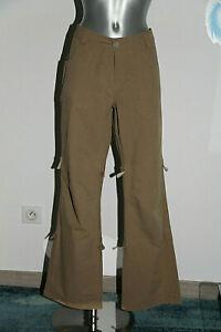 joli pantalon ample toile camel TIMBERLAND taille m/M soit 42 fr EXCELLENT ÉTAT
