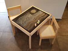 IKEA Lätt Kindertisch mit 2 Stühlen (501.784.11) günstig