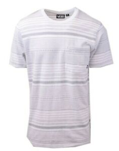 Vans-Off-The-Wall-Men-039-s-White-Striped-Climbed-J-S-S-Tee-S02-Retail-34