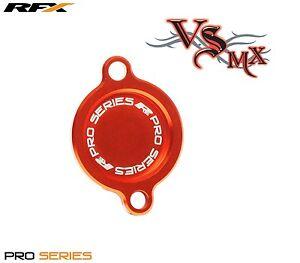 RFX Pro Series Oil Filter Cover (Orange) KTM SXF250 13-15 SXF350 EXCF350 11-15