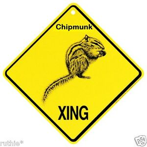 Chipmunk-Crossing-Xing-Sign-New-Made-in-USA