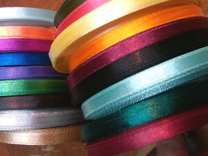 "Vintage Satin Rayon 1/4"" Ribbon 3yds Made in Japan"