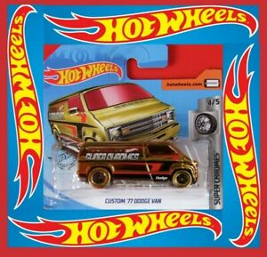HOT-WHEELS-2019-039-77-Dodge-Van-23-250-neu-amp-ovp