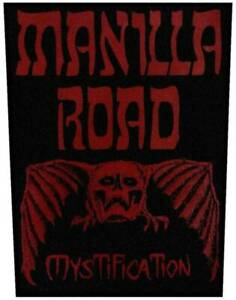 Manilla-Road-Mystification-USA-Backpatch