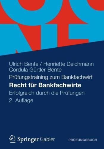 1 von 1 - Recht für Bankfachwirte - 9783834933645 PORTOFREI