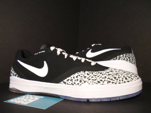 UNRELEASED Nike Dunk PAUL RODRIGUEZ IX 9 ELITE T SB BLACK WHITE CEMENT GREY 10