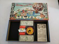 Vintage Around The World in 80 Days Board Game No. 3859 Transogram Toys 1957