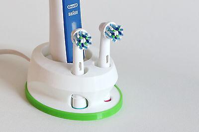 Oral B Zahnbürstenhalter toothbrush holder for//für 2 Bürsten 3D-Druck 3D-print