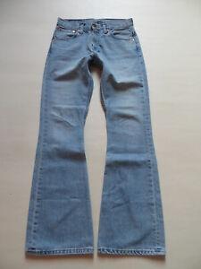NEU W 26 //L 32 Indigo Hippie Schlaghose ! Levi/'s 516 Flare Schlag Jeans Hose