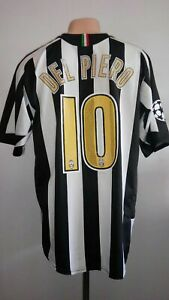 buy online f09e9 0b053 Details about Football shirt Juventus Home 2005 jersey Nike Del Piero #10  Sz L Champion Italy