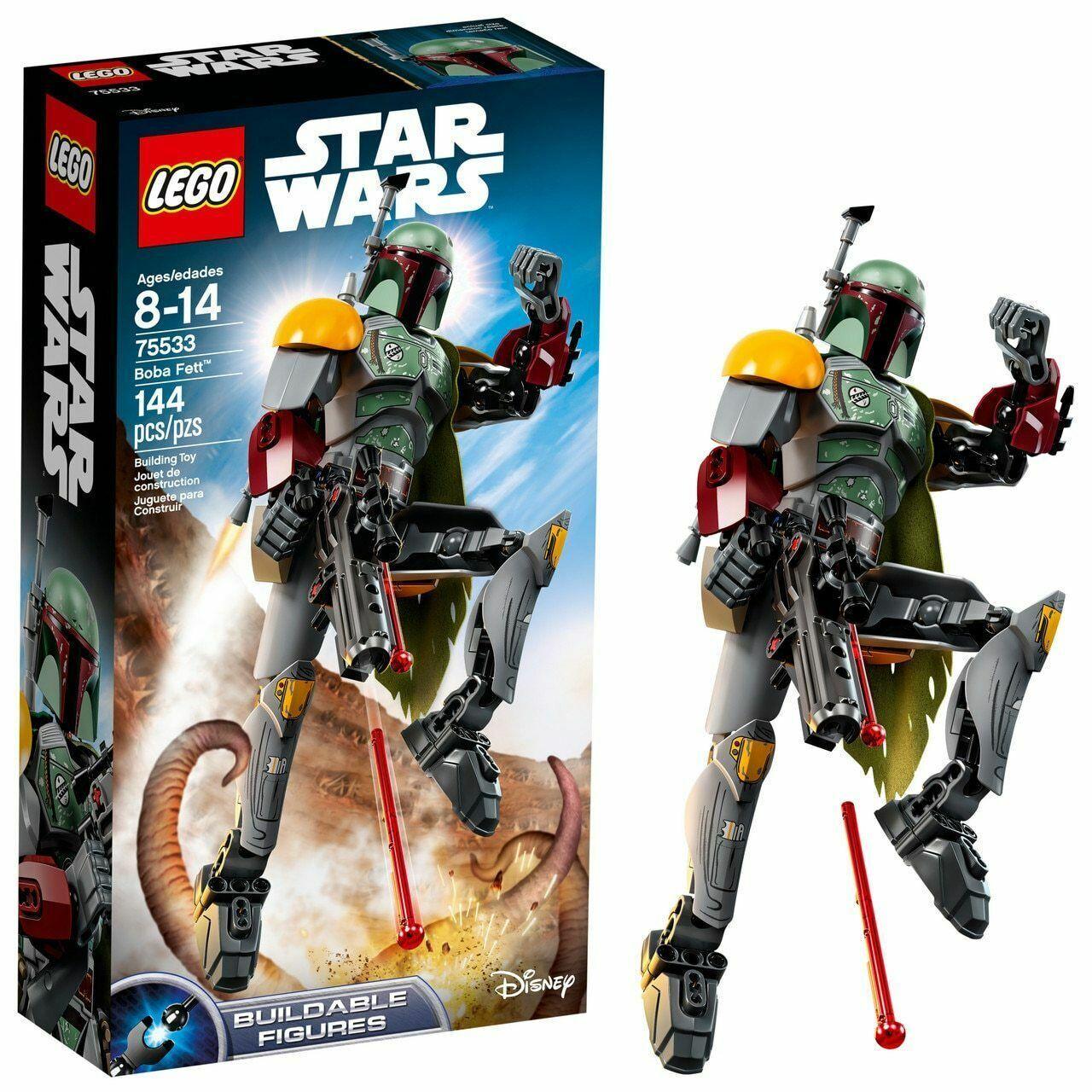 Lego estrella guerras 75533 Boba  Fett Buildable cifra 144pcs  da non perdere!