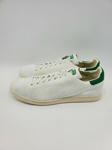 Adidas-Originals-Stan-Smith-OG-PK-Primeknit-White-Green-Shoes-S75146-Size-14