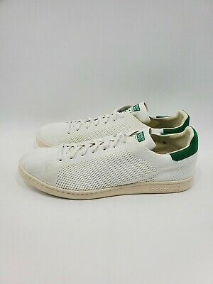 Preciso Barcelona Pantano  Adidas Originals Stan Smith OG PK Primeknit White Green Shoes S75146 Size  14 | eBay