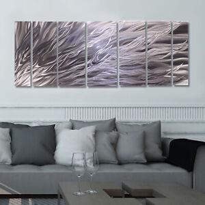 Statements2000-3D-Metal-Wall-Art-Panels-Modern-Abstract-Silver-Decor-Jon-Allen