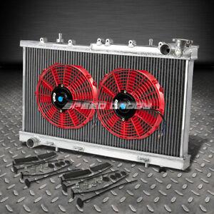 Aluminum 2 Row Core Performance Radiator for 91-99 Nissan Sentra SE//SE-R Manual