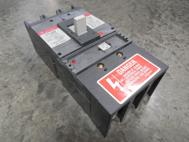 USED GE SGLA36AT0400 Spectra RMS Current Limiting Circuit Breaker 400 Amps  600V