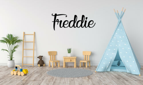 Personalised Wall Sticker Word Name Sign Decal Mural Gift Idea for Kids Room