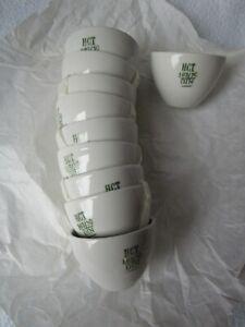HCT-10-Porzellan-Tiegel-Schmelztiegel-103-50-DIN-unbenutzt-neuwertig-OVP