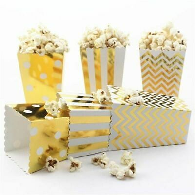 Candy Buffet Rainbow Colours Small Popcorn Boxes x 5