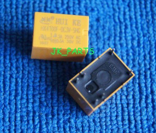 20x ORIGINAL HK4100F-DC3V-SHG 3A 250VAC 30VDC 6Pins JRC-21F Relay