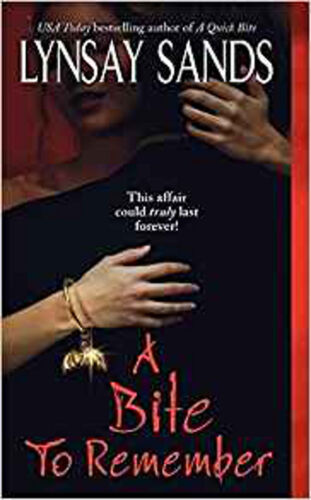 1 of 1 - A Bite to Remember (Argeneau Vampire), Excellent, Sands, Lynsay Book