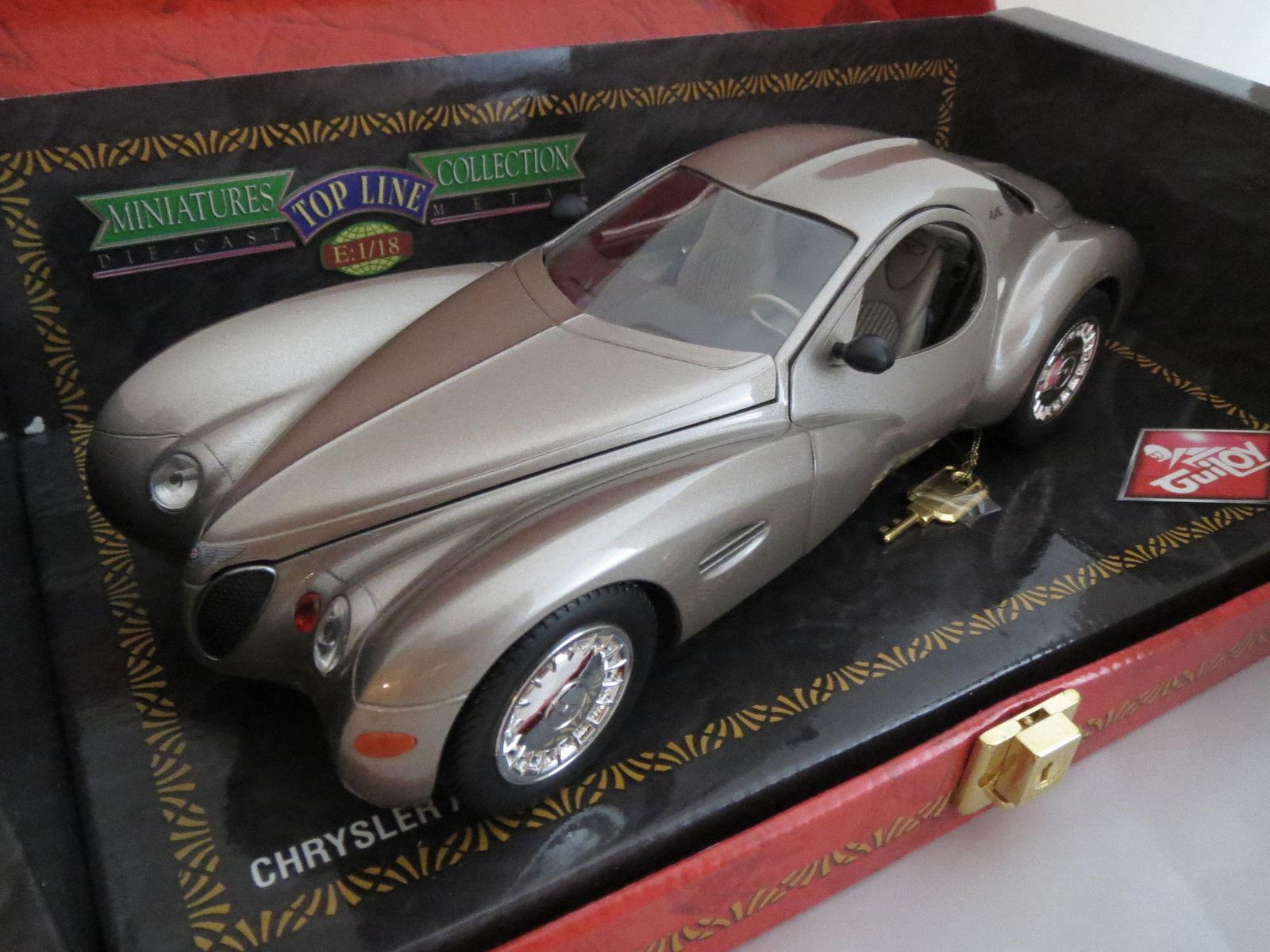 Chrysler ATLANTIC, broncemetallic, tout pour ouvrir, 1 18, GUILOY environ 1074 grammes
