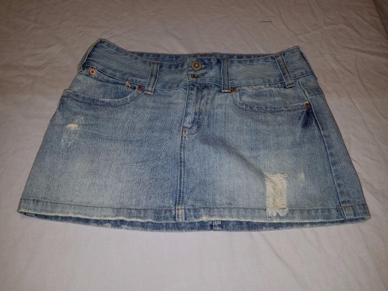 Vintage American Eagle Jean Women's Skirt Size 8