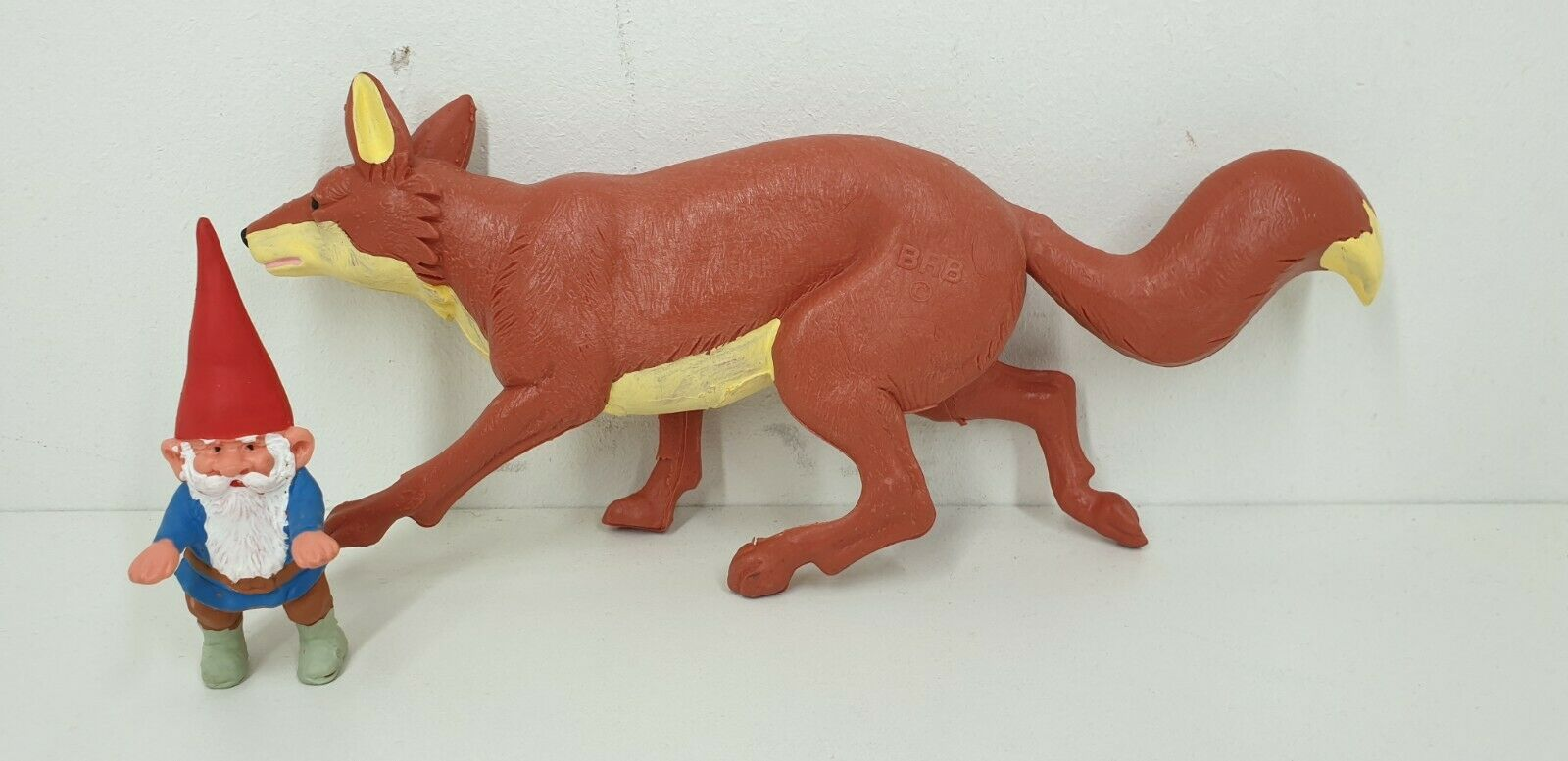 Rare David the Gnome Fox Swift and standing pvc figure BRB Star Toys 80's