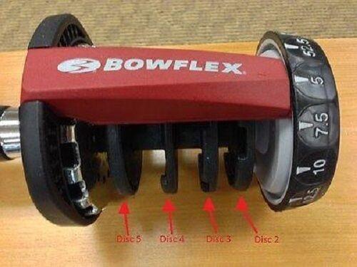 New 552 Bowflex Replacement Part Series 2 Disc 2