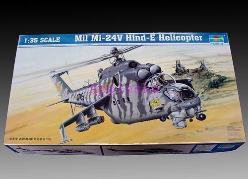Trumpeter 05103 1 35 Mil Mi-24V Hind-E Helicopter