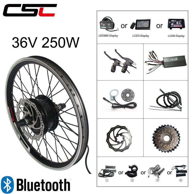 Serie de conversión de bicicletas elásticas abik 36 V 250 W azultooth