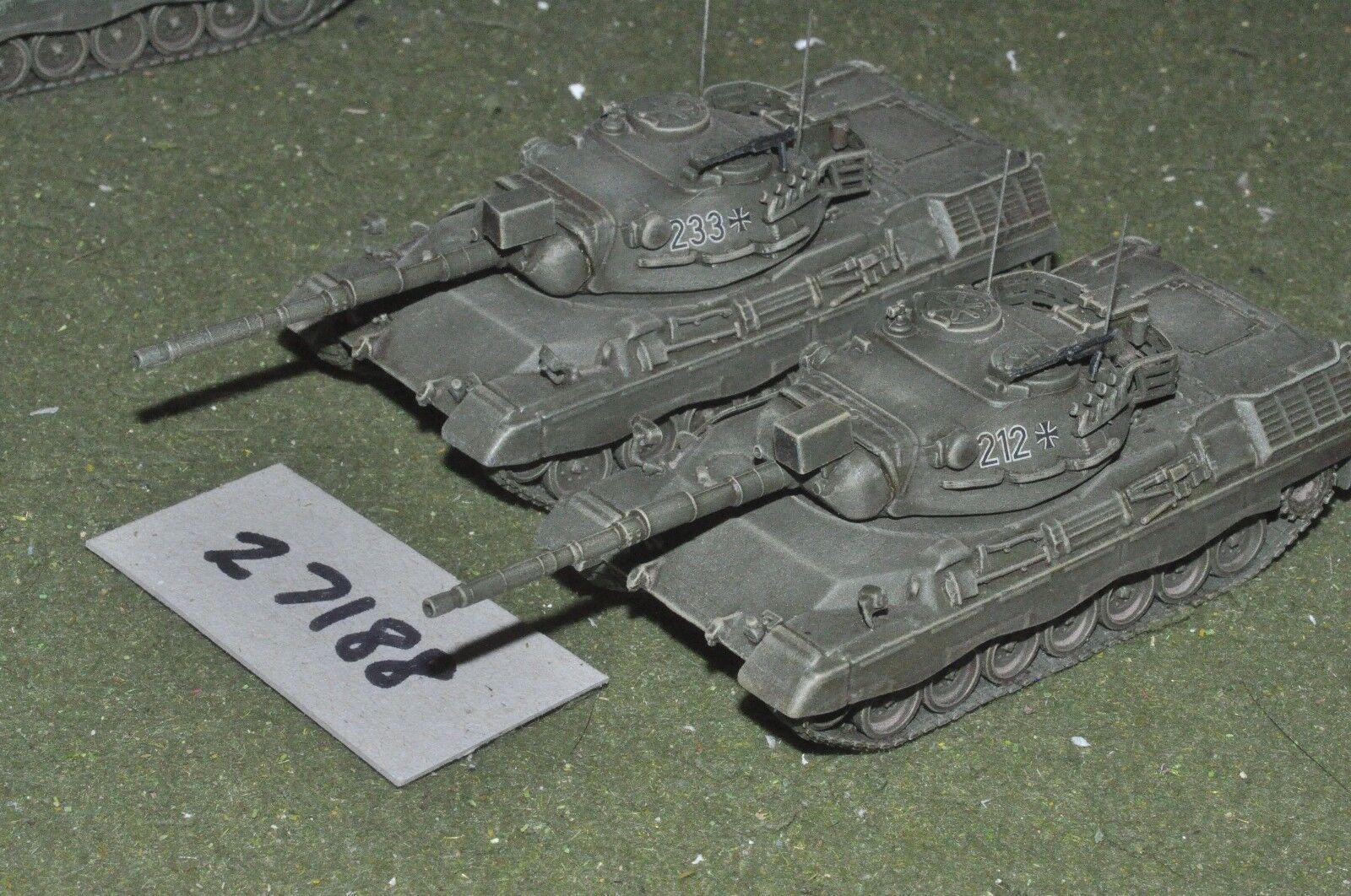 20mm modern   german - 2 tanks - vehicles (27188)