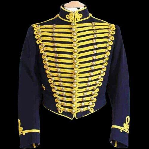 GLOUCESTERSHIRE Napoleonic HUSSARS  Tunic Jacket In All Sizes with custom