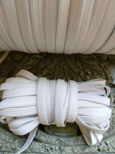 "Free USPS First Class shipping. 1//4/"" Latex Free Knitted Elastic.10 yards"
