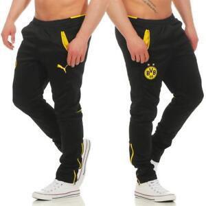 Puma-BVB-Borussia-Dortmund-Herren-Hose-Trainingshose-Jogginghose-Sporthose