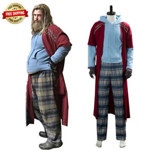 Details About Avengers Endgame Fat Thor Outfit Cosplay Costume