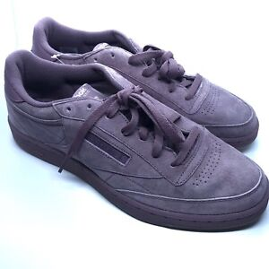 75bc9d5bd56 Image is loading Reebok-Classic-Club-C-85-SG-Purple-Size-