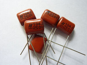 300pcs 400V 104 J 0.1uf 100nf 100000pf P10 CBB21 CBB metal film capacitor