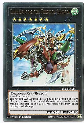Yu-Gi-Oh 1x #065 Gaia Dragon the thunder charger-bllr-Battles of Legend