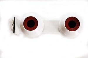 2 X Douilles étanches Doubles A Clipser En Ligne Pour Tube Néon T5 Φ 16 Mm